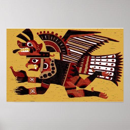 'Inca Warrior Póster