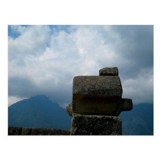 Incan Architectural Stones Postcard