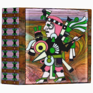 Incan Folk Art Traditional Binder
