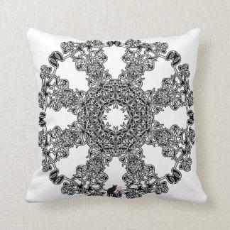 Incandescence Octa Glyph Pillow