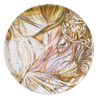 incandescent abstraction plate