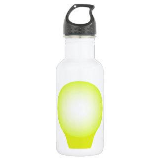 Incandescent lamp water bottle
