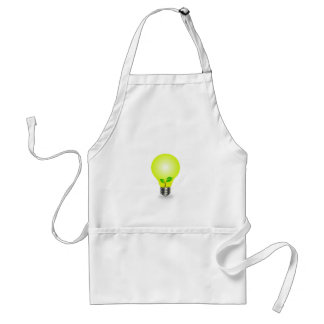 Incandescent lamp with baby seedling apron