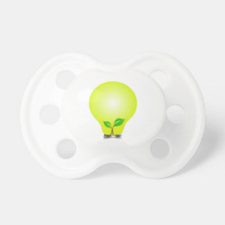 Incandescent lamp with baby seedling baby pacifiers