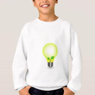 Incandescent lamp with baby seedling sweatshirt