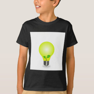 Incandescent lamp with baby seedling T-Shirt