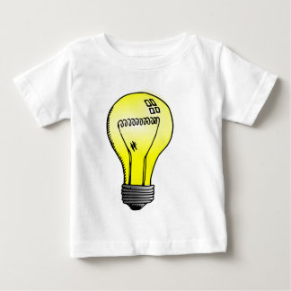 Incandescent Light Bulb Baby T-Shirt