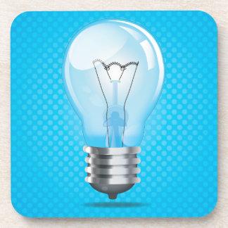 Incandescent light bulb beverage coaster