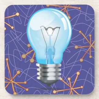 Incandescent light bulb coaster