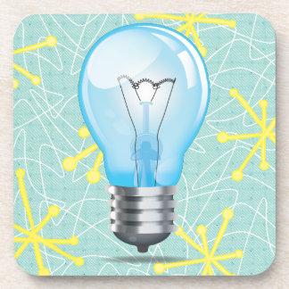 Incandescent light bulb drink coaster