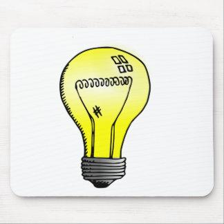 Incandescent Light Bulb Mousepad