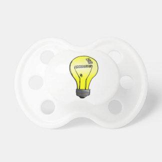 Incandescent Light Bulb Pacifiers