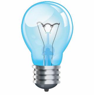 Incandescent light bulb cut outs