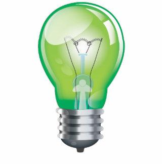 Incandescent light bulb acrylic cut out