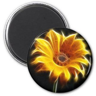Incandescent Sunflower Magnet