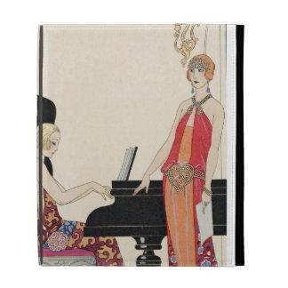 Incantation, illustration for 'Gazette du Bon Ton' iPad Case
