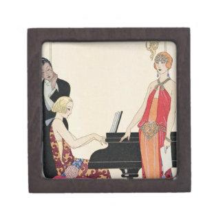 Incantation, illustration for 'Gazette du Bon Ton' Premium Jewelry Box