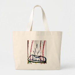 Incarcerated Sole by Luminosity Large Tote Bag