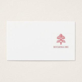 Incardinatio de Ecclesia Dei Business Card