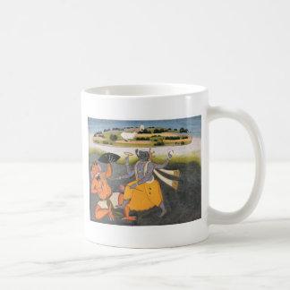 Incarnation of Vishnu as a boar Coffee Mug