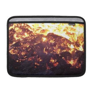 Incendio fuera de control del bosque fundas para macbook air