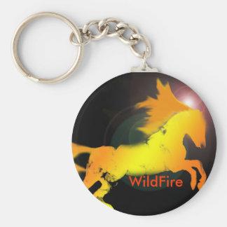 incendio fuera de control, incendio fuera de contr llavero redondo tipo pin