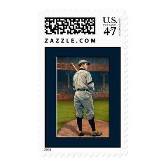 Incendio fuera de control Schulte, Chicago Cubs, Sello Postal