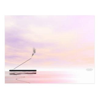 Incense - 3D render Postcard
