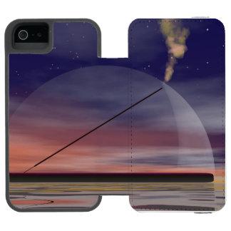 Incense - 3D render Wallet Case For iPhone SE/5/5s
