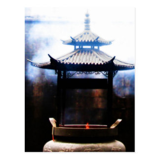 Incense Ascending Postcard