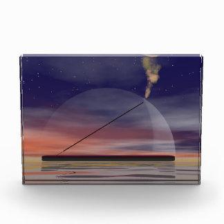 Incense by night acrylic award