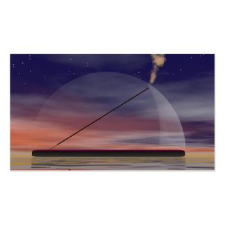 Incense by night business card