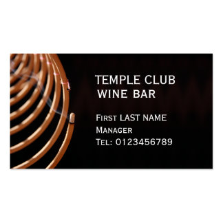 Incense Coil Business Card