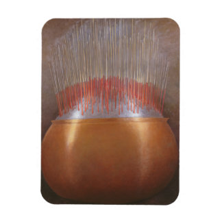 Incense Sticks Rectangular Photo Magnet