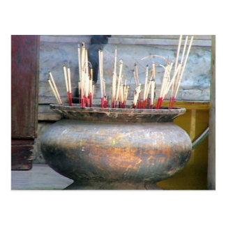 Incense Thailand Postcard