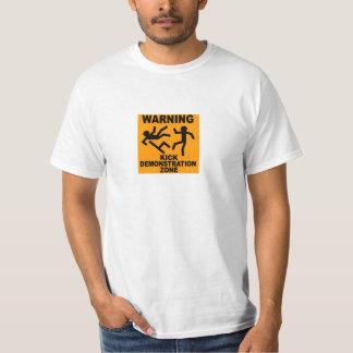 Inception - Kick Demonstration Zone T-Shirt