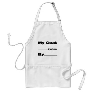 Inches Goal Adult Apron