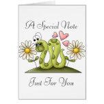 Inchworm Card