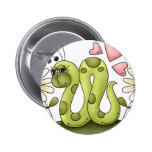 Inchworm Pinback Button