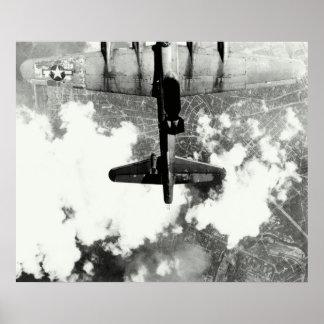 Incidente no.1 del fuego amigo de WWII B-17 Póster