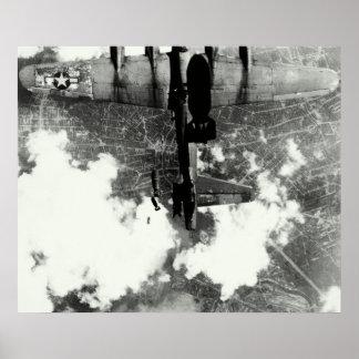 Incidente no.2 del fuego amigo de WWII B-17 Póster