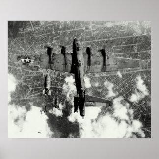 Incidente no 3 del fuego amigo de WWII B-17 Poster
