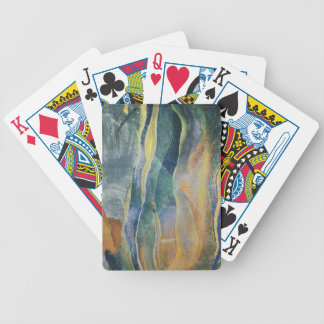 Incidents of Colours and Plains (tempera and penci Bicycle Playing Cards