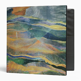 Incidents of Colours and Plains (tempera and penci Binder