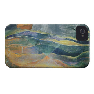 Incidents of Colours and Plains (tempera and penci iPhone 4 Case-Mate Case
