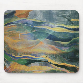 Incidents of Colours and Plains (tempera and penci Mouse Pad
