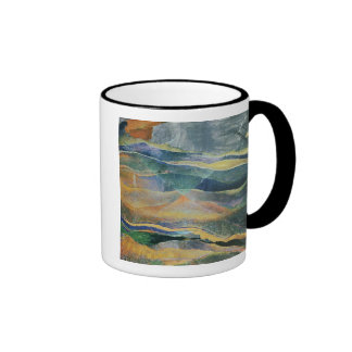 Incidents of Colours and Plains (tempera and penci Ringer Mug