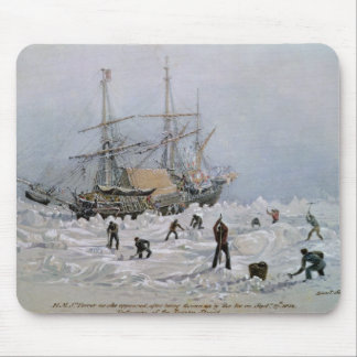 Incidents on a Trading Journey: HMS Terror Mousepads