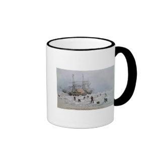 Incidents on a Trading Journey: HMS Terror Ringer Mug