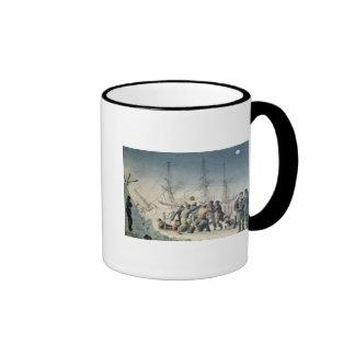 Incidents on a Trading Journey Ringer Mug